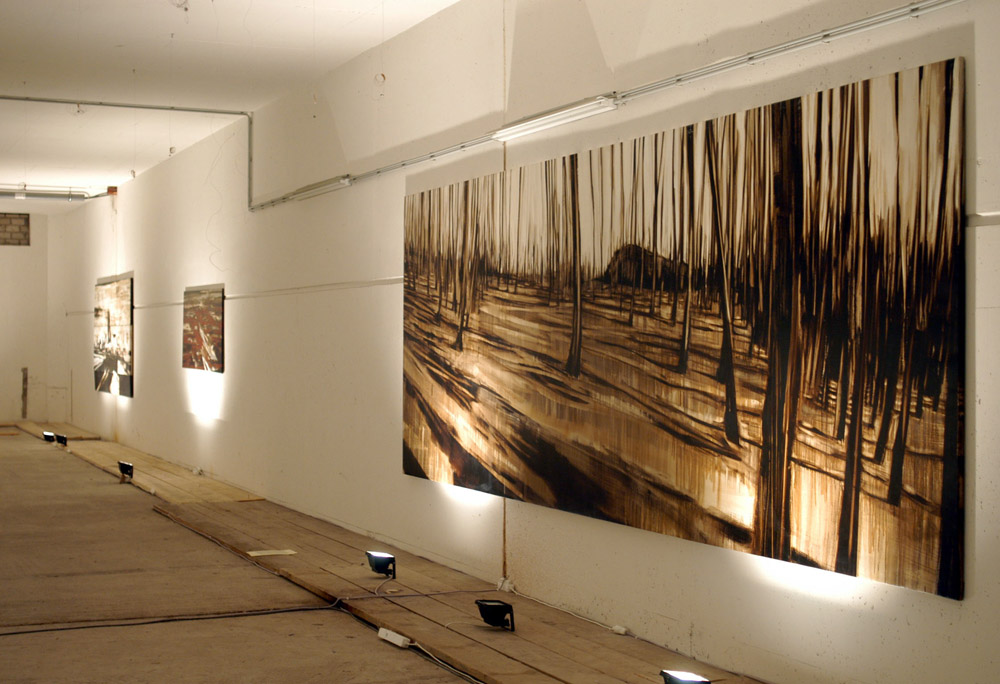 Ausstellung Dal Profondo, Mainzer Katakomben, 2004