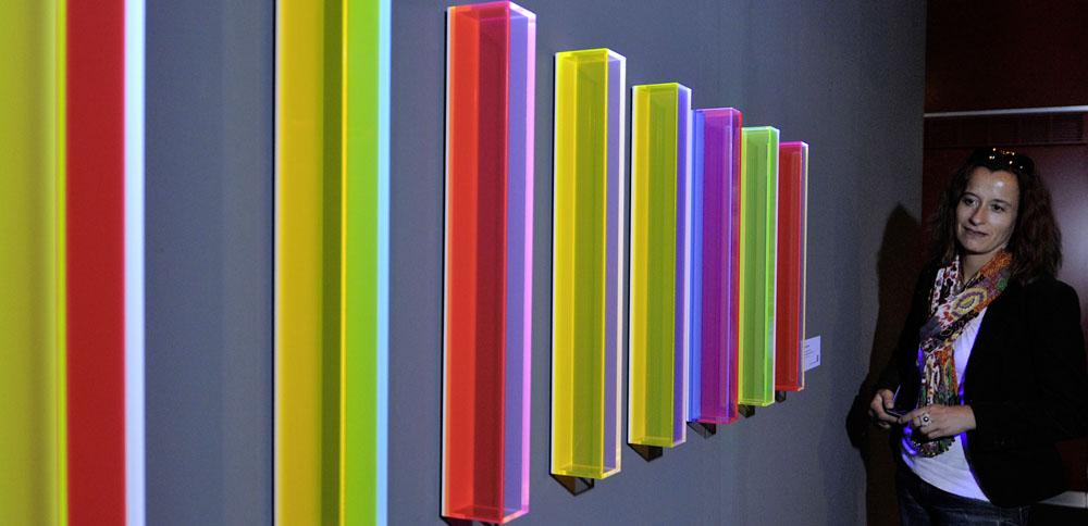 Spektrale 2011, Lichtkunst in der Rheingoldhalle