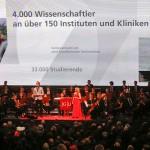 Akademischer Festakt zur 70 Jahre Wiedereröffnung der JGU in der Rheingoldhalle Mainz